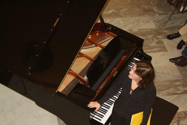 Judit_Varga_at Klosterneuburg Sammlung Essl with Ensemble Reconsil